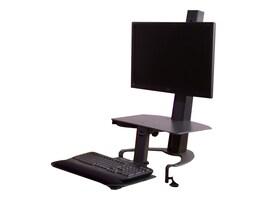 Ergoguys Taskmate Go Dual 6350 Monitor Adjustable Height Work Station, 6350, 32429901, Furniture - Miscellaneous