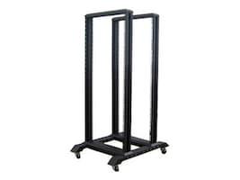 iStarUSA 4-Post Open Frame Rack, 22U, WO22AB, 9080975, Racks & Cabinets