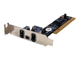 Bytecc Firewire 1394A 3+1 Ports Low Profile PCI Card, BT-FW310LV, 11816970, Network Adapters & NICs