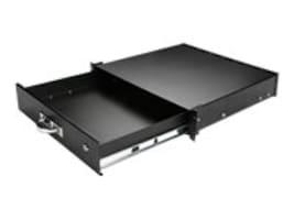 iStarUSA 2U Rackmount Drawer, Black, WA-DWR2UB, 32092763, Rack Mount Accessories