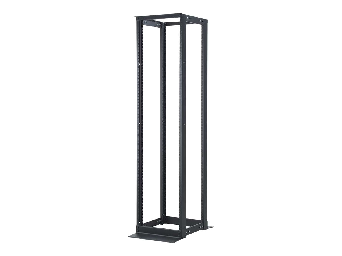 C2G 45U 4-Post Adjustable Open Frame Rack, 14591, 30593898, Racks & Cabinets