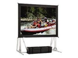 Da-Lite Fast-Fold Truss-Frame Projection Screen, Da-Mat, 1:1, 7' x 9', 84812, 11846415, Projector Screens