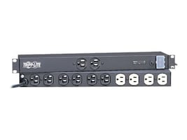 Tripp Lite Isobar Surge Suppressor 1U Rackmount, 15-Amp, (12) Outlet, 15ft. Cord, 3840 Joules, IBAR12, 40077, Surge Suppressors