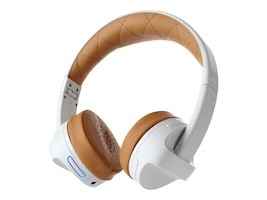 Ifrogz iFrogz AudioImpulse Headphones - White Tan, IFIMPH-WT0, 35866365, Headsets (w/ microphone)