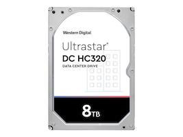 HGST 8TB Ultrastar DC HC320 SATA 6Gb s 512e SE 3.5 Internal Hard Drive, 0B36404, 35248575, Hard Drives - Internal