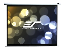 Elite Economy Electric Projection Screen, White Case, 120in, ELECTRIC120V, 7386381, Projector Screens