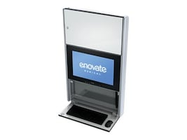 Enovate 550 Lite Wall Station with eLift, Ontario White, E550T4-N4W-00OW-0, 15729021, Computer Carts - Medical