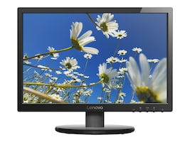 Lenovo 19.5 LI2054 LED-LCD Monitor, Black, 65BAACC1US, 33170209, Monitors