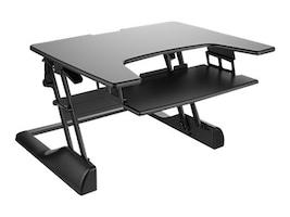 Ergotech 30w Freedom Height Adjustable Standing Desk, Black, FDM-DESK-B-30, 33104762, Furniture - Miscellaneous