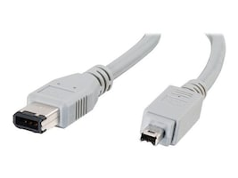 C2G IEEE-1394 6-Pin to 4-Pin FireWire Cable 1 Meter, 27291, 6476771, Cables