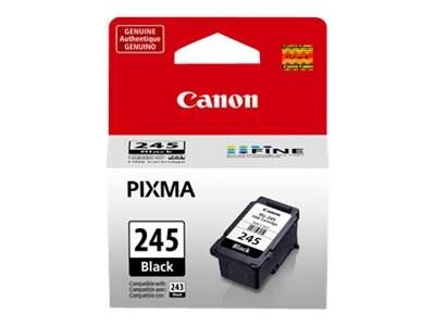 Canon PG-245 Black Ink Cartridge, 8279B001, 16074653, Ink Cartridges & Ink Refill Kits - OEM