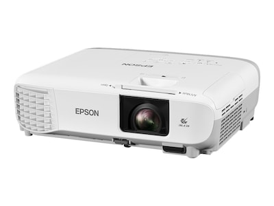 Epson PowerLite X39 XGA 3LCD Projector, 3500 Lumens, White, V11H855020, 34728139, Projectors
