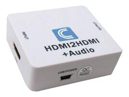 Comprehensive HDMI Audio De-Embedder with HDMI passthru, CP-HDA2N, 17927275, Adapters & Port Converters