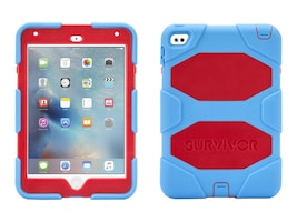 Griffin Survivor AT for iPad mini 4, Blue Red, GB41358, 30905222, Protective & Dust Covers