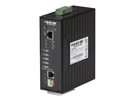 Black Box 10BASE-T 100BASE-TX Hardened Ethernet Extender over vDSL, LB303A, 10701636, Network Extenders