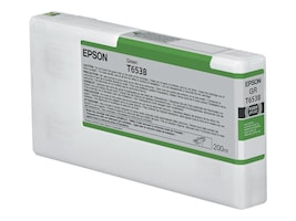 Epson Green UltraChrome HDR Ink Cartridge - 200ml for Stylus Pro 4900, T653B00, 13135078, Ink Cartridges & Ink Refill Kits