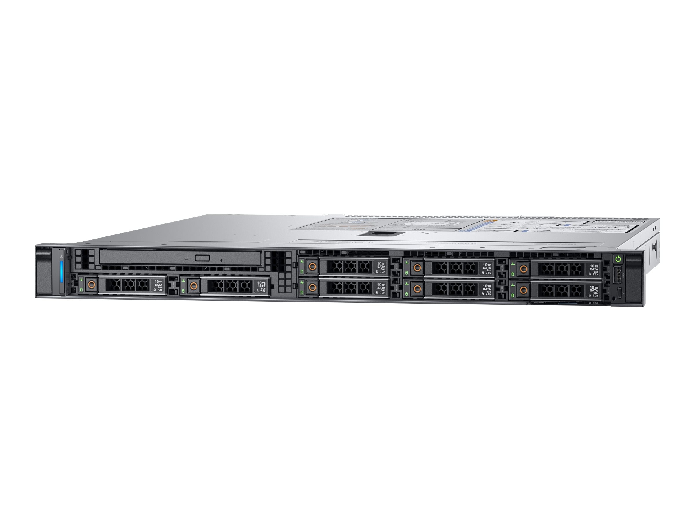Dell PowerEdge R340 1U RM Xeon QC E-2134 3 5GHz 8GB 1TB 4x3 5