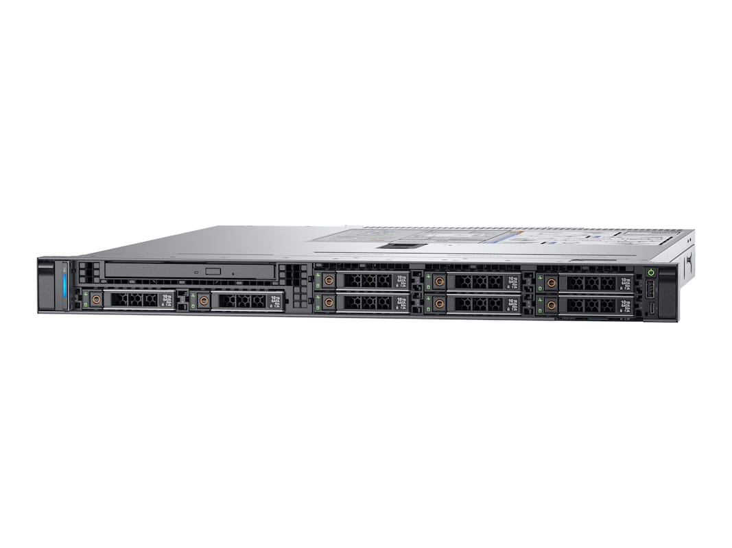 Dell PowerEdge R340 1U RM Xeon QC E-2134 3 5GHz 8GB 1TB 4x3
