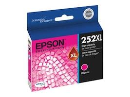 Epson Magenta 252XL High Capacity Ink Cartridge, T252XL320, 18868422, Ink Cartridges & Ink Refill Kits