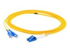 ACP-EP Fiber Patch Cable, LC-SC, 9 125, Singlemode, Duplex, 1m, ADD-SC-LC-1M9SMF, 14483525, Cables