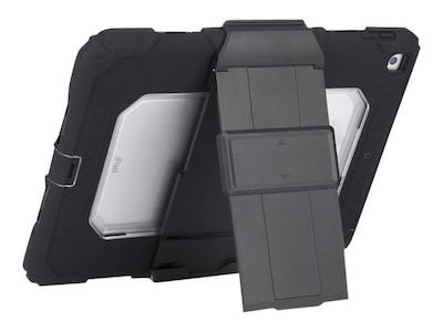 Griffin Survivor All-Terrain Rugged Case for iPad 5th Gen, Black Clear, GB43623, 34102291, Carrying Cases - Tablets & eReaders
