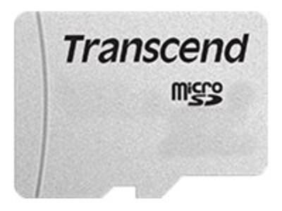 Transcend 8GB MicroSD Flash Memory Card, Class 10, TS8GUSD300S, 36268877, Memory - Flash
