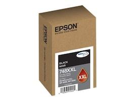 Epson Black 748XXL Extra High Capacity Ink Cartridge, T748XXL120, 30718689, Ink Cartridges & Ink Refill Kits