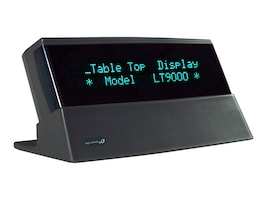 Logic Controls Table Top Display 9.5mm 2x20 RS-232, Gray, LTX9000-GY, 17271034, POS Pole Displays