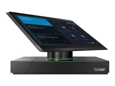 Lenovo TopSeller ThinkSmart Hub 500 AIO Core i5-7500T 2.7GHz 8GB 128GB SSD HD630 ac BT 11.6 FHD MT W10IoTE, 10V50000US, 35062025, Desktops - All-in-One