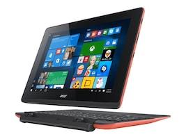 Acer Aspire SW3-016-17QP Atom x5-Z8300 1.44GHz 2GB 64GB SSD abgn BT 2xWC Kbd 2C 10.1 WXGA MT W10H64 Red, NT.G8XAA.002, 30870550, Tablets