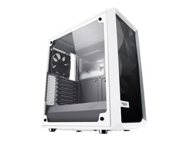 Fractal Design Chassis, Meshify C White TG, FD-CA-MESH-C-WT-TGC, 35248276, Cases - Systems/Servers