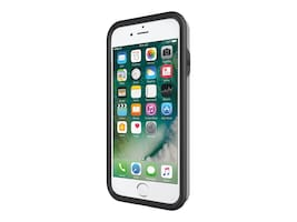 Incipio Performance Series Ultra Case for iPhone 7, Black Gray, IPH-1489-BKG, 33013730, Carrying Cases - Phones/PDAs