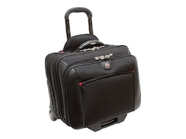 Stephen Gould Potomac Wheeled Computer Case, Fits up to 15.4 Screen, 67966020, 8976788, Carrying Cases - Notebook