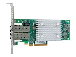Lenovo ThinkSystem QLogic QLE2742 PCIe 32Gb 2-Port SFP+ Fibre Channel Adapter, 7ZT7A00518, 34310728, Host Bus Adapters (HBAs)