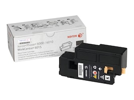Xerox Black Standard Capacity Toner Cartridge for Phaser 6000 & 6010 Series & WorkCentre 6015, 106R01630, 12487653, Toner and Imaging Components
