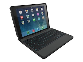 Zagg Rugged Book Pro Durable Wireless Keyboard & Detachable Case w  Stand for 9.7 iPad Pro, ID8RPK-BB0, 32828937, Keyboards & Keypads