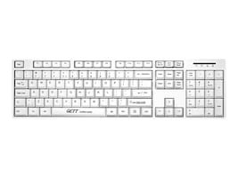 JACO PRODUCT ACCESSORY - GETT WASHABLE AND ANTIMICROBIAL WHITE KEYBOAR, 38-0091, 36815931, Keyboards & Keypads