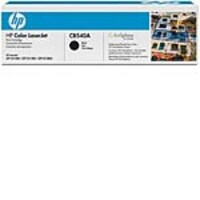 HP 125A (CB540A) Black Original LaserJet Toner Cartridges (2-pack), CB540AD, 10159040, Toner and Imaging Components - OEM