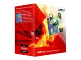 AMD Processor, A4-6300 DC 3.9GHz 1MB 65W, Box, AD6300OKHLBOX, 16258188, Processor Upgrades