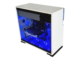 In-win Chassis, 101 Tower, White Luminous Front, 101 WHITE, 35365165, Cases - Systems/Servers