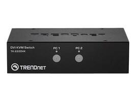 TRENDnet 2-port DVI KVM Switch Kit, TK-222DVK, 16582800, KVM Switches