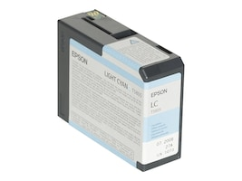 Epson Light Cyan UltraChrome K3 Ink Cartridge for Stylus Pro 3800 3800 Professional Edition, T580500, 7159639, Ink Cartridges & Ink Refill Kits