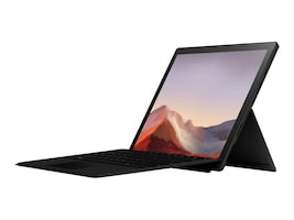 Microsoft Surface Pro 7 Core i7-1065G7 16GB 256GB SSD ax BT 2xWC 12.3 PS MT W10P Black, PVT-00015, 37616589, Tablets