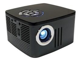 Aaxa P7 1080p Mini LED Projector, 600 Lumens, Black, KP-750-00, 36640499, Projectors
