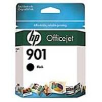 HP 901 (CZ075FN) 2-pack Black Original Ink Cartridges, CZ075FN#140, 12881520, Ink Cartridges & Ink Refill Kits - OEM