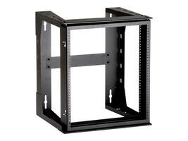 Black Box Wallmount Frame 12U, 24h x 20.7w, Black, RM070A-R3, 8491449, Rack Mount Accessories