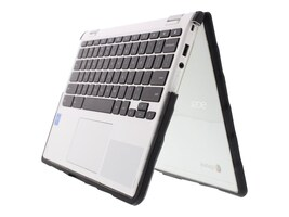 Gumdrop DropTech Case for Acer R 11 738T 2-in-1, Clear Black, DT-ACERR11F-BLK_BLK, 35661554, Carrying Cases - Notebook
