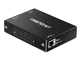 TRENDnet Gigabit PoE + Repeater + 3-Yr Limited Warranty, TPE-E100, 18399030, Network Transceivers