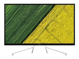 Acer 31.5 ET322QK wmiipx 4K Ultra HD LED-LCD Monitor, Black, UM.JE2AA.003, 35121734, Monitors