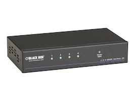 Black Box VSP-HDMI1X4-4K Main Image from Left-angle